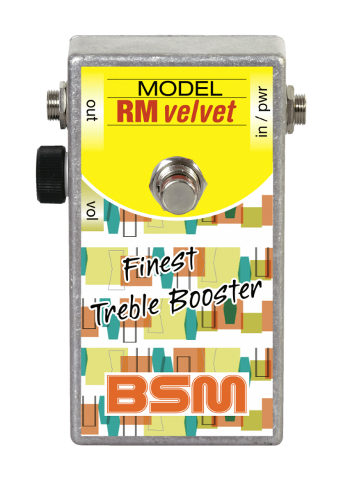 Booster Image: RM Velvet Treble-Booster