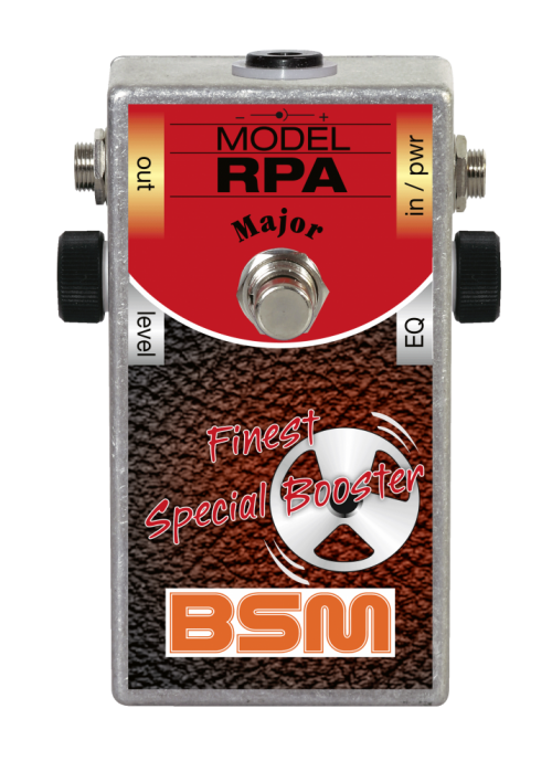 Booster Image: RPA Major Special Booster